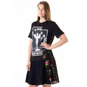 alexander mcqueen Hybrid t-shirt dress