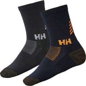 Helly Hansen Lifa Marino Strumpa 2-Pack, Navy 35-38