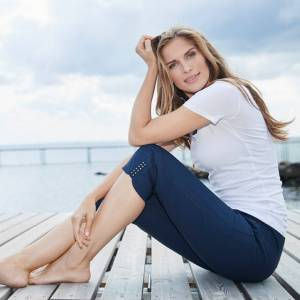 LauRie Mona, marin. Capri. Slim (Stl: 38, 40, 44, 46, 48, )