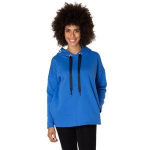 Yest Mysig hood-tröja med fickor, electric blue (Stl: 38, 40, 44, 46, )
