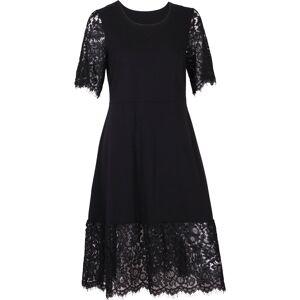 Mingel Festklänning med spets, svart (Stl: S, M, )
