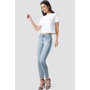 Calvin Klein Mid Rise Skinny Ankle Jeans - Blue