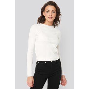 MANGO Apple Sweater - White