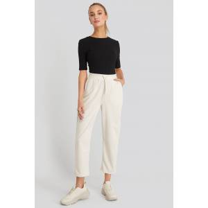 NA-KD Basic Basic Slip Pants - White