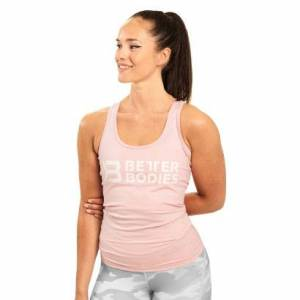 Better Bodies Chrystie T-back, Pale Pink, Xs