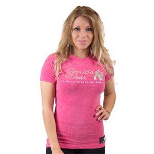 Gorilla Wear Camden T-shirt Pink, Xs