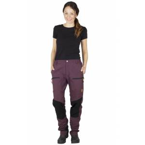 Tuxer Hunter Lady Pants Dark Wine Outdoorbyxa Dam Tuxer