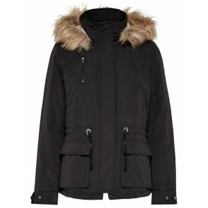 ONLY Starlight Fur Parka Black