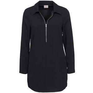 Vero Moda Rinse Ls Dress Black Klänning Vero Moda