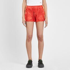 Puma Tearaway Mini Shorts för kvinnor i rött Wl Red