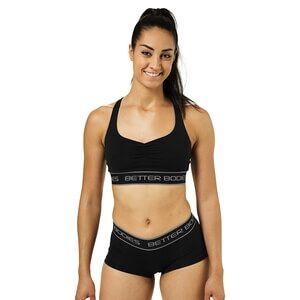 Better Bodies Athlete Short Top, black, small Toppar dam