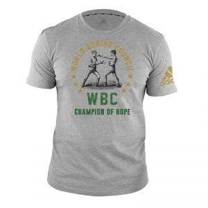 Adidas WBC Heritage T-Shirt, grey, xlarge T-Shirt herr