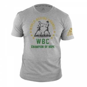 Adidas WBC Heritage T-Shirt, grey, medium T-Shirt herr