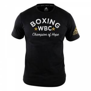Adidas WBC Heritage T-Shirt, black, medium T-Shirt herr