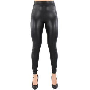 Only Leggings Cool coated svart