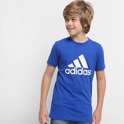 Camiseta Infantil Adidas Mc Yb Masculina - Masculino