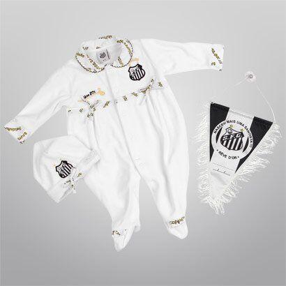 Kit Maternidade de Bebê Luxo Plush Santos - Feminino