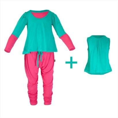 Pijama Infantil Gumii Anne Sophie 3 peas Feminina - Feminino