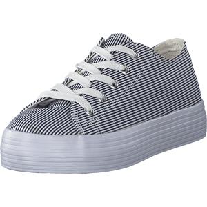 Duffy 97-18300 Blue White, Sko, Sneakers & Sportsko, Sneakers, Hvid, Dame, 38