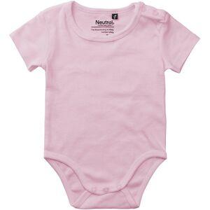 Neutral Kortærmet Bodystocking Til Babyer