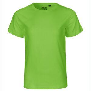 Neutral Økologisk Børne T-Shirts-Lime-152/158