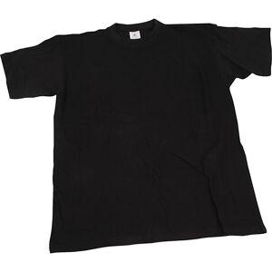 Creativ Company T-Shirt, B: 52 Cm, Str. Medium , Rund Hals, Sort, 1 Stk.