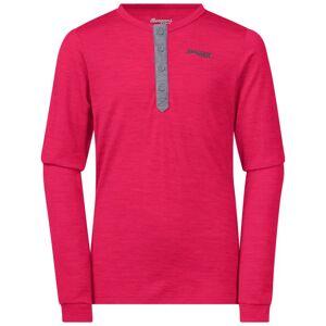 Bergans Myske Wool Youth Shirt Pink Pink 164