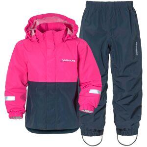 Didriksons Rusk Kids Set 3 Pink Pink 100