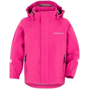 Didriksons Rocket Kids Jacket Pink Pink 110