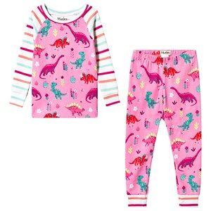 Hatley Pink Darling Dinos Pajama Set 5 years