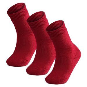 Falke 3 pakkaus Catspads Kids - Red * Kampanja *  - Size: 10500 - Color: punainen