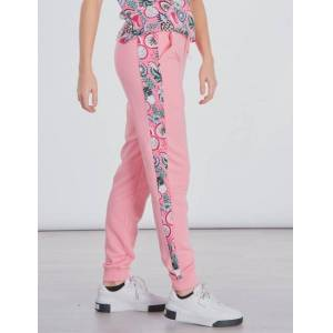 Puma , CLASSICS FRUIT SWEAT PANTS, Vaaleanpunainen, Housut till Tytöt, 164 cm