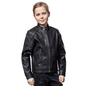 Biker Jacket Black Jack & Jones Junior