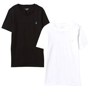 Calvin Klein Black and White Tee 2-Pack 6-7 years