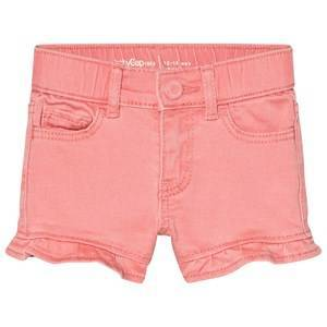 GAP Pink Treat Shorty Shorts with Flutter Cuffs 4 Years