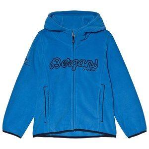 Bergans Bryggen Fleece Jacket Athens Blue 116 cm