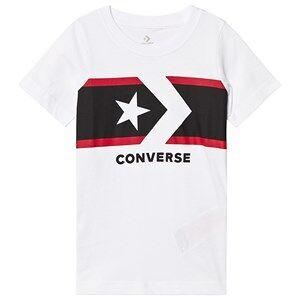 Converse White Star Chevron Tee 12-13 years