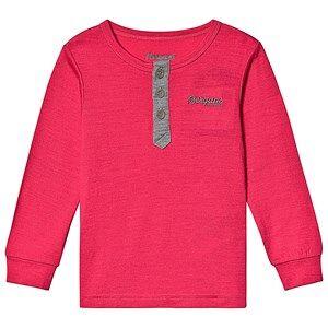 Bergans Myske Wool Kids Shirt Dk Sorbet Solid Grey Solid Dk Grey 122 cm (6-7 Years)