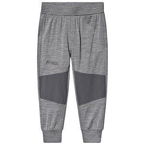 Bergans Myske Wool Kids Pant Solid Grey Solid Dk Grey 104 cm (3-4 Years)
