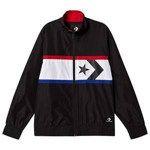 Converse Black and Red Star Chevron Woven Windbreaker 12-13 years