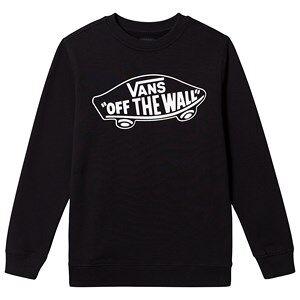 Vans Off the Wall Sweatshirt Black M (12 years)