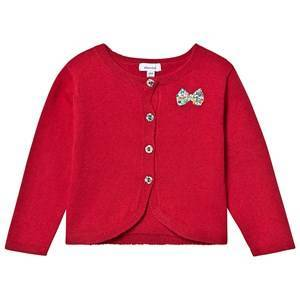 Absorba Knit Liberty Bow Cardigan Red 18 months