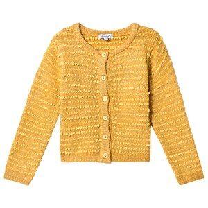 Absorba Bobble Knit Cardigan Mustard 4 years