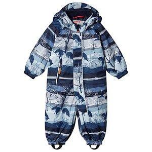 Reima Reimatec Puhuri overall Jeans Blue/Woods 80 cm (9-12 Months)