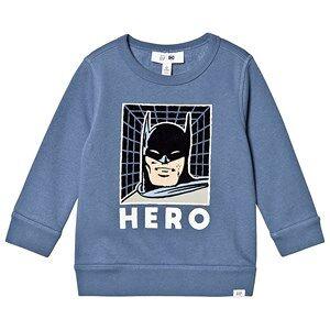 GAP Batman Sweatshirt Bainbridge Blue 12-18 Months