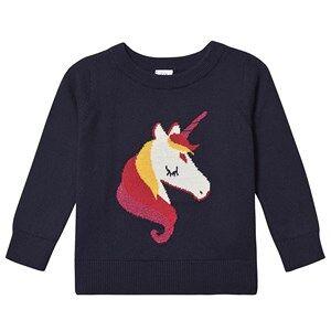 GAP Intarsia Sweater Unicorn 4 Years
