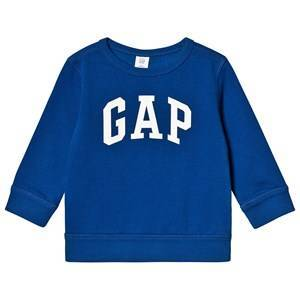 GAP Logo Sweatshirt Brilliant Blue 18-24 Months