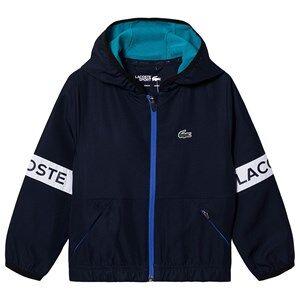 Lacoste Branded Taffeta Tennis Jacket Navy 16 years