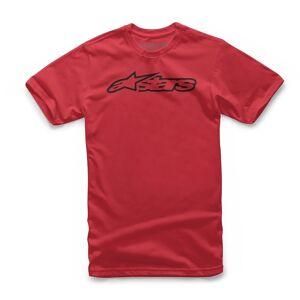 Alpinestars Blaze Tee Lasten t-paita Musta Punainen unisex L