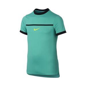 Nike Rafa Challenger Top SS Premier Green Boy Size 128 XL (158-166cm)